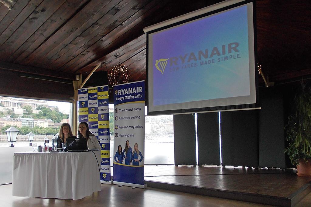 Téli menetrend bemutató a megújuló Ryanairtől