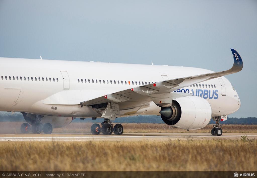 Megszakított felszállással záróvizsgázott az A350XWB
