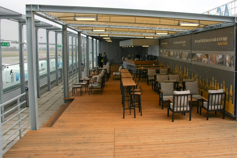 Megnyílt Terasz Café a 2A terminálon