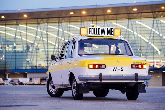 Újabb old-timer reptéri jármű az Aeroparkban