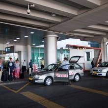 Nem drága a reptéri taxi