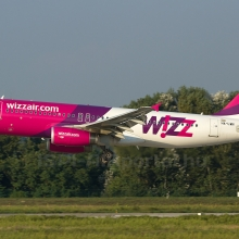 Egy működő hajtóművel szállt le a Wizz Air gépe Budapesten