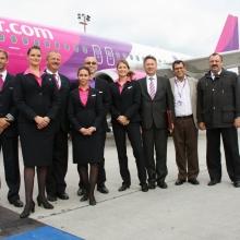 Elindult az első Wizz Air járat  a Liszt Ferenc repülőtérről Moszkvába