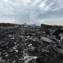 MH17: Menthetetlen volt a gép a rakétatalálatot követően