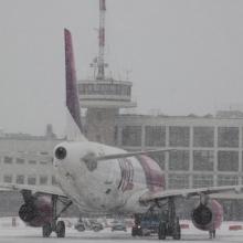 Több északi repülőtéren is fennakadásokat okoz a szélvihar