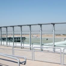 Ismét látogatható a Liszt Ferenc-repülőtér kilátóterasza