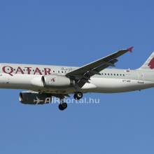 Két Qatar-gép Ferihegyen