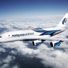 A tengerbe zuhant a Malaysia Airlines gépe